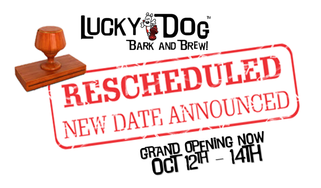 Grand Opening of our newest location in Steele Creek @ Lucky Dog Bark and Brew Steele Creek